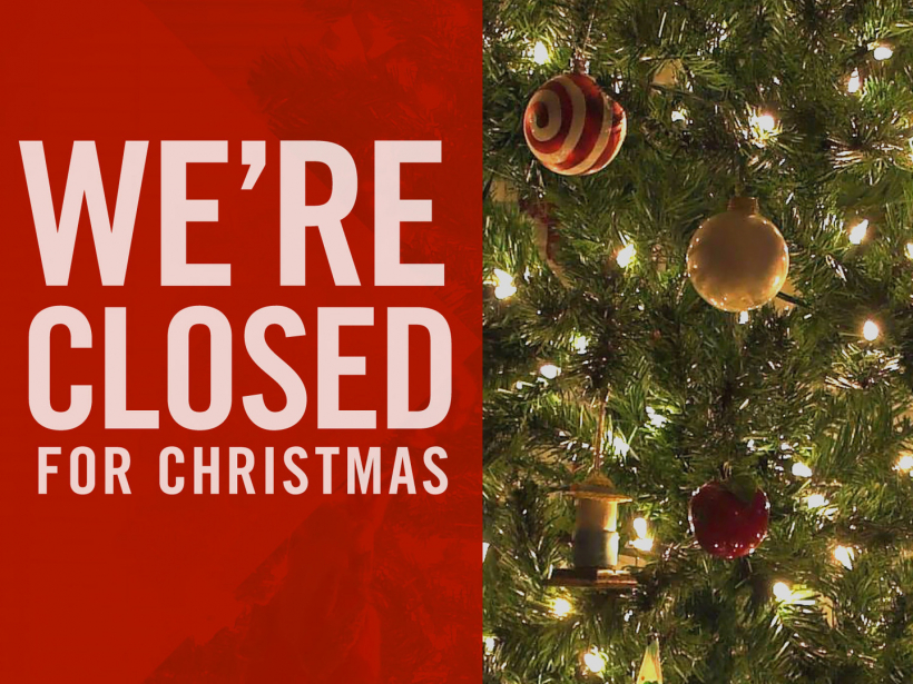 Municipal Office Closure- Christmas Week 2019