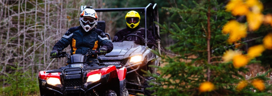 ATVing ('Quading')